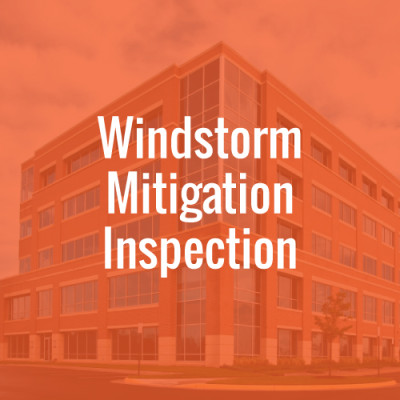 Windstorm Mitigation Inspection