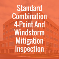 Standard Combination 4-Point And Windstorm Mitigation Inspection