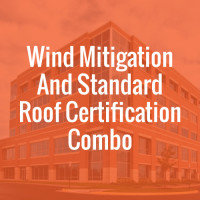 Wind Mitigations and Standard Roof Certification Combo