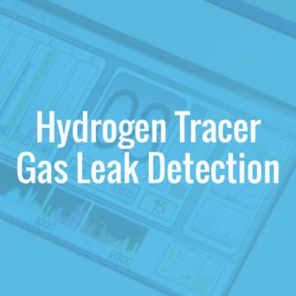 Hydrogen Tracer Gas Leak Detection
