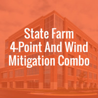 State Farm 4 Point and Wind Mitigation Combo